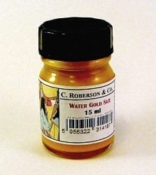 Water Gold Size Gilding Medium 15ml