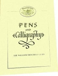 William Mitchell Pens & Calligraphy Book