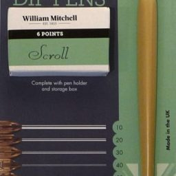 William Mitchell Scroll Pens