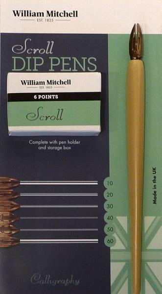 William Mitchell Scroll Pens