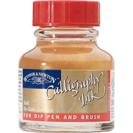 Winsor Newton Calligraphy Ink Gold
