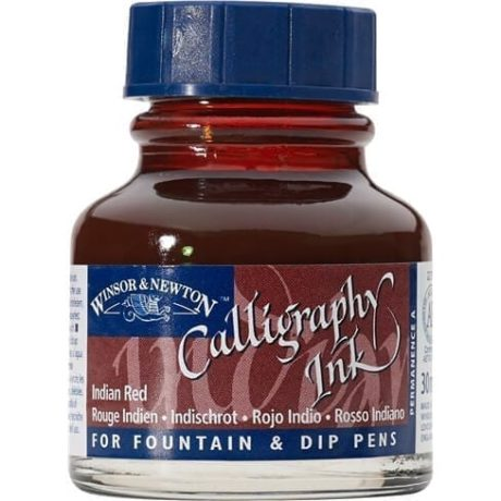 Winsor Newton Calligraphy Ink Indian Red