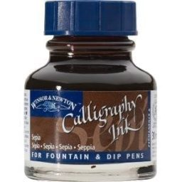 Winsor Newton Calligraphy Ink Sepia