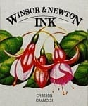 Winsor & Newton Drawing Ink Crimson 14ml 1