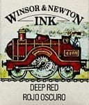 Winsor & Newton Drawing Ink Deep Red 14ml