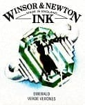 Winsor & Newton Drawing Ink Emerald 14ml
