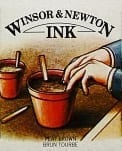 Winsor & Newton Drawing Ink Peat Brown 14ml