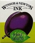 Winsor & Newton Drawing Ink Purple 14ml 1