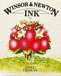 Winsor & Newton Drawing Ink Scarlet 14ml 1