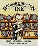 Winsor & Newton Drawing Ink Silver