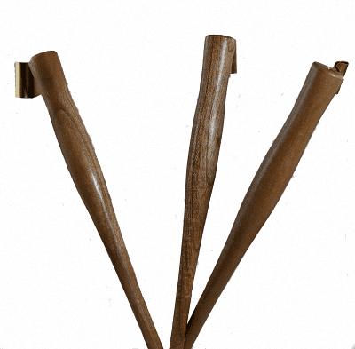 Wooden Oblique Penholder - Redwood 1