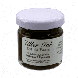 Ziller Ink  Buffalo Brown 1