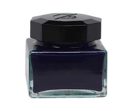 Ziller Ink Midnight Blue Back