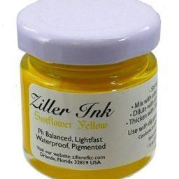 Ziller Ink Sunflower Yellow 1