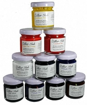Set of Ziller Inks