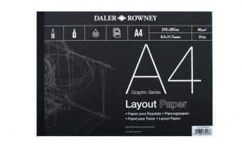 daler rowney a4 layout