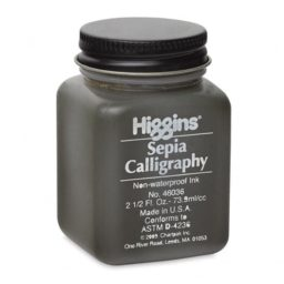 higgins sepia ink