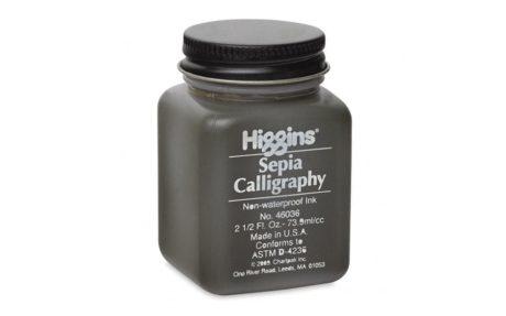 higgins sepia ink