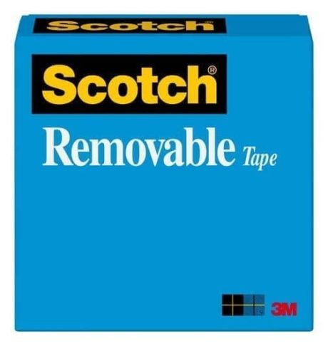 scotch removable tape box