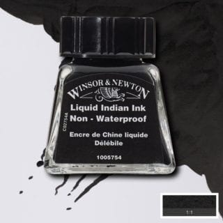 winsor and newton drawing ink liquid indian