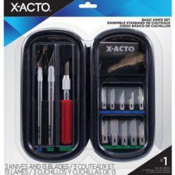 x acto basic knife set