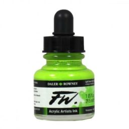 Daler Rowney FW Artist Light Green
