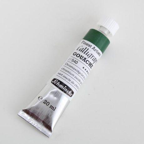 Schmincke Calligraphy Gouache Chromium Oxide Green