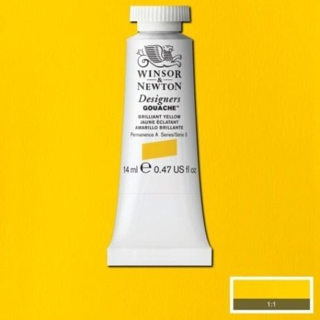 Winsor & Newton Gouache Brilliant Yellow