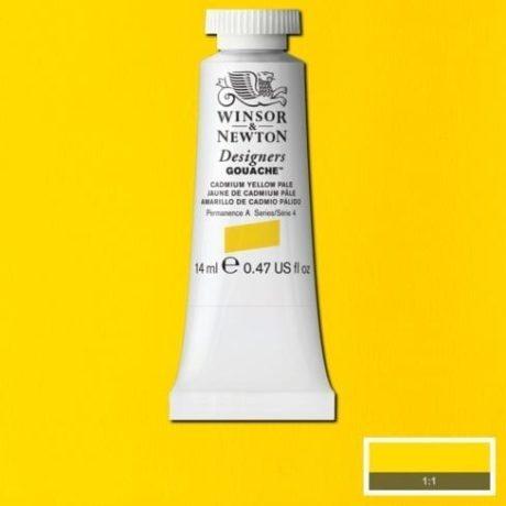 Winsor & Newton Gouache Cadium Yellow Pale