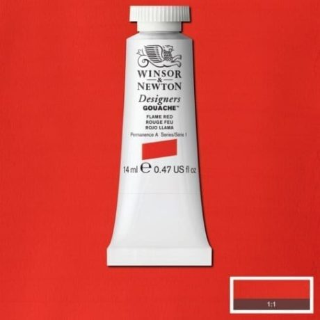 Winsor & Newton Gouache Flame Red