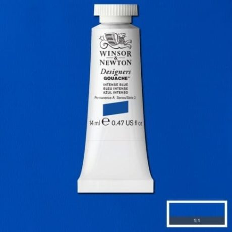 Winsor & Newton Gouache Intense Blue