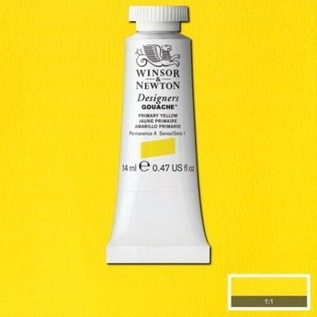 Winsor & Newton Designers Gouache Primary Yellow
