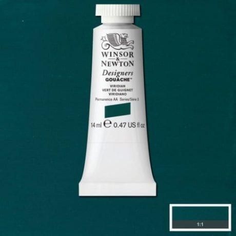 Winsor & Newton Designers Gouache Viridian