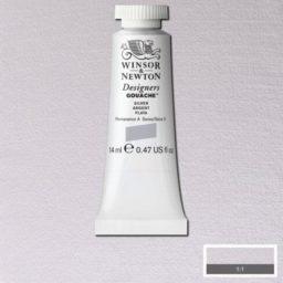 Winsor Newton Gouache Silver
