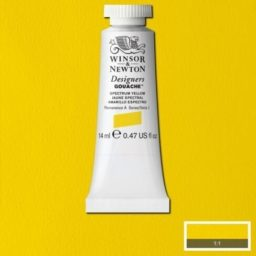 Winsor Newton Gouache Spectrum Yellow