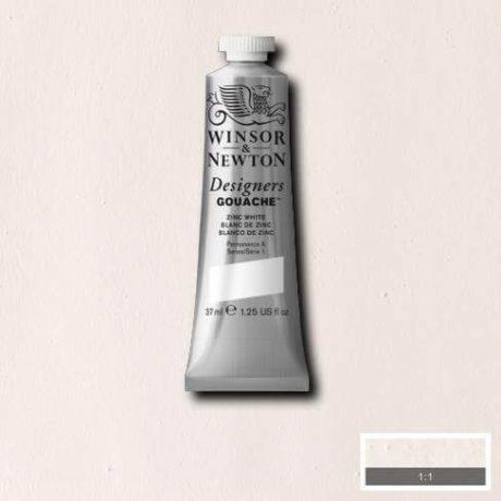 Winsor Newton Gouache Zinc White 37ml
