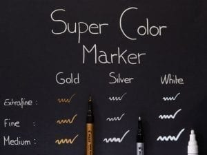 pilot super colour markers