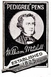 william mitchell pedigree