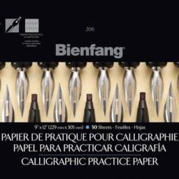 Bienfag 206 practice calligraphy paper