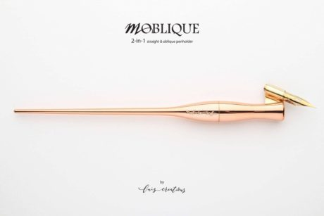 moblique penholder sunrise copper