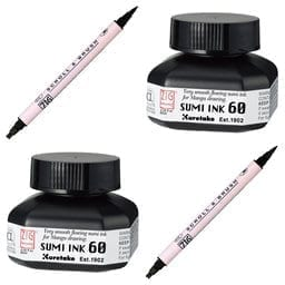 sumi ink calligraphy marker