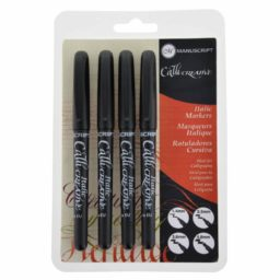 Manucript italic markers 4 pack