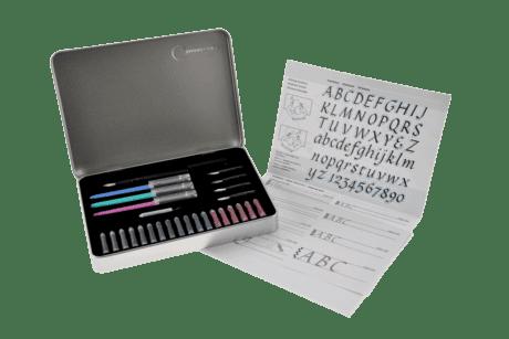 Manuscript Calligraphy Compendium Set Inside
