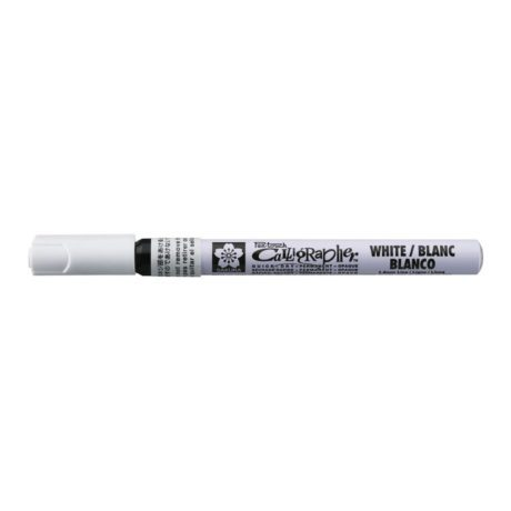 Sakura Calligrapher Pen Touch White Fine