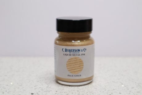 Roberson Liquid Metal Ink Pale Gold