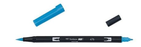 Tombow ABT Dual Brush Pen Cyan