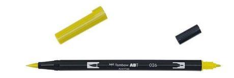 Tombow ABT Dual Brush Pen Yellow Gold