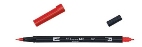 Tombow ABT Dual Brush Pen warm red