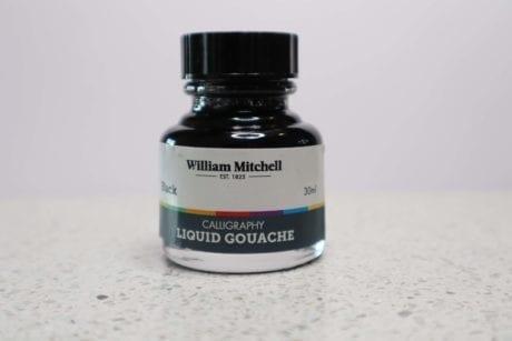 William Mitchell Black Gouache