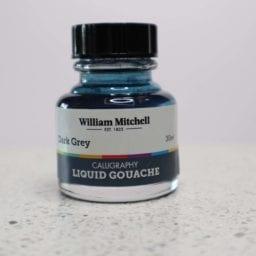 William Mitchell Dark Grey Gouache